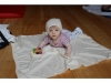 Cashmere «Calico» Set Decke und Mütze