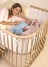 Babybay Bett Maxi für Zwillinge und Grosse Babys
