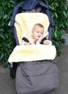 Baby-Lammfell-Sack